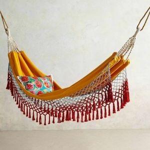 Anthropologie Canyon fringe hammock